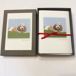 Cocker Spaniel Note Cards, set of 6